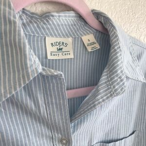 Rider by LEE | Botton Front Shirt | Easy Care